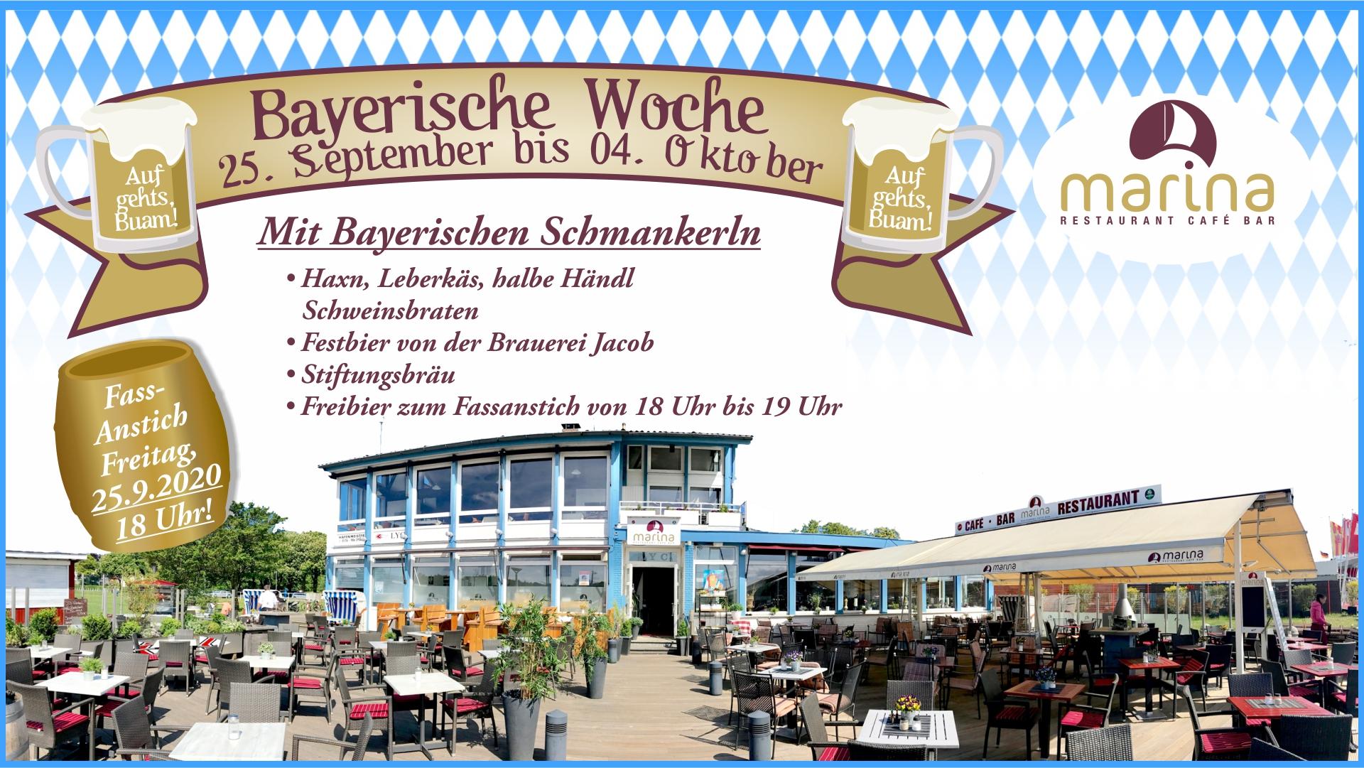 Bayerische Woche vom 25. September bis zum 4. Oktober 2020