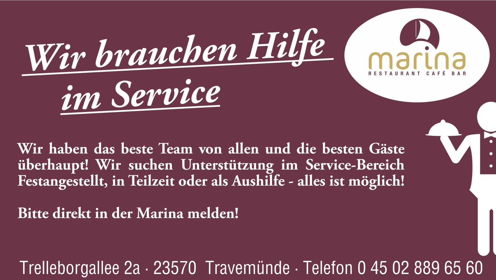 Wir brauchen Unterstützung im Service!