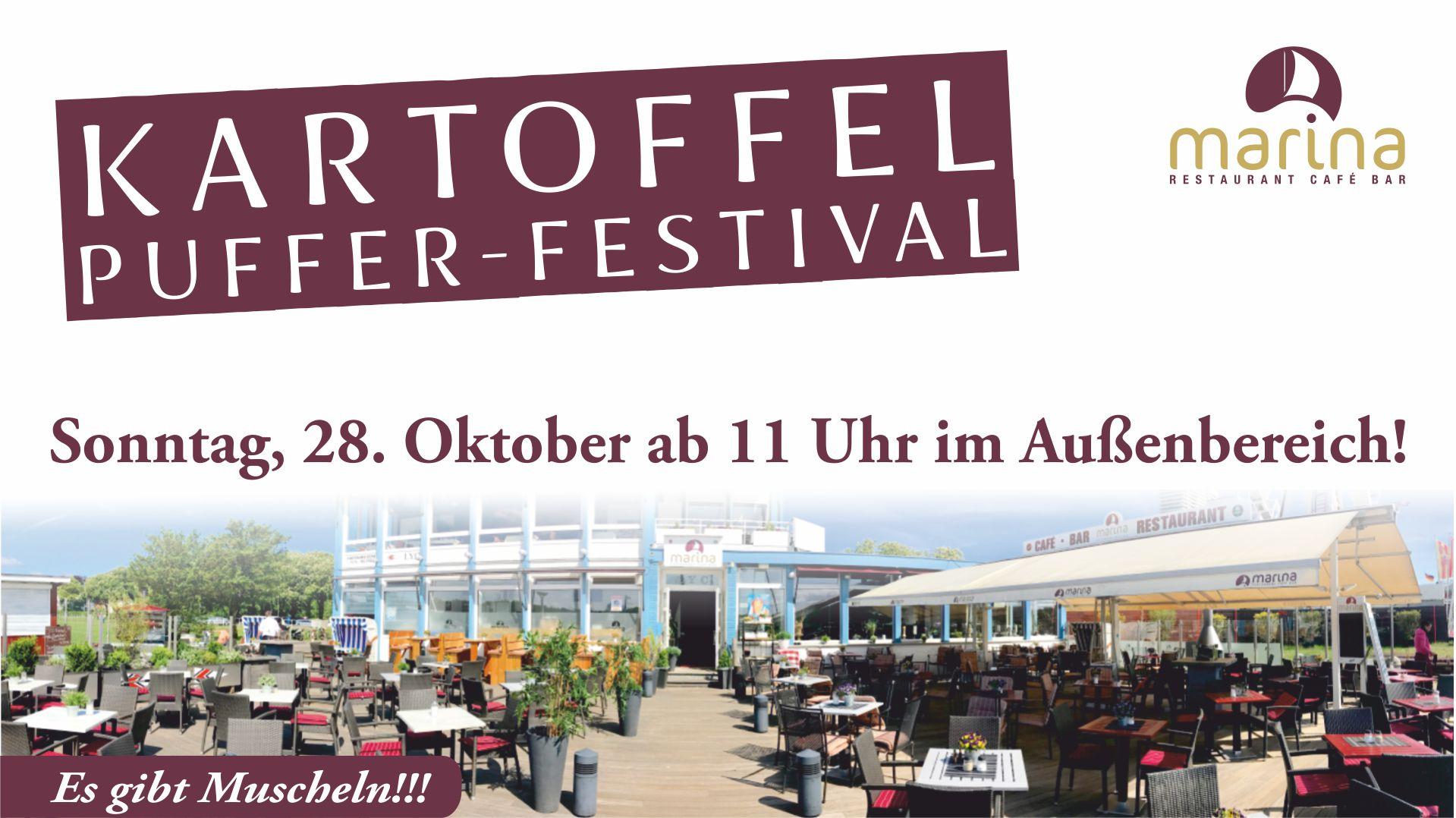 Kartoffelpuffer-Festival am 28. Oktober ab 11 Uhr!